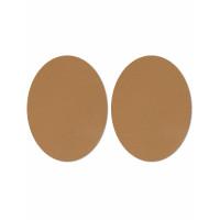 Прочие АТЗ-16-4-31537.004 Заплатки кожзам р.11х14 см коричневый 2 шт