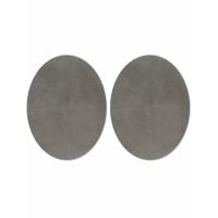 Прочие АТЗ-4-2-31416.002 Заплатки иск. замша р.11х14 см серый 2 шт