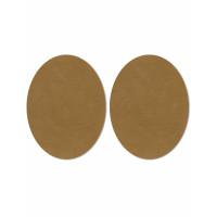 Прочие АТЗ-4-5-31416.005 Заплатки иск. замша р.11х14 см коричневый 2 шт