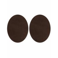 Прочие АТЗ-4-6-31416.006 Заплатки иск. замша р.11х14 см коричневый 2 шт