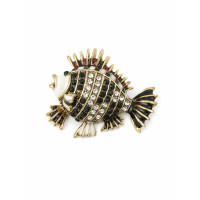 Прочие БББ-154-2-32594.002 Брошь р.3,6х4,4 см золотистый