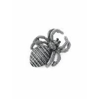Прочие БББ-204-1-34868 Брошь р.2,7х3,5 см серый