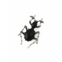Прочие БББ-210-1-34885 Брошь р.3,2х5 см черный