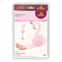 "Miadolla BI-0227 Набор для изготовления игрушки ""Miadolla"" BI-0227 Розовый фламинго ."