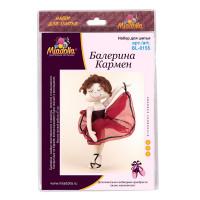 "Miadolla BL-0155 Набор для изготовления игрушки ""Miadolla"" BL-0155 Балерина Кармен ."