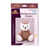 """Miadolla BR-0133 Набор для изготовления игрушки """"Miadolla"""" BR-0133 Медвежонок Берри ."""