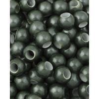 Прочие БУД-150-1-32748.001 Бусины пластик д.1,4 см зеленый уп. 5 шт.