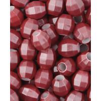 Прочие БУД-152-7-32730.001 Бусины пластик р.1,3х1,4 см красный уп. ~20 г