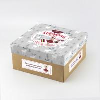"""Miadolla BX-0325 Набор для изготовления игрушки """"Miadolla"""" BX-0325 Новогодний бокс """"Олень"""" ."""