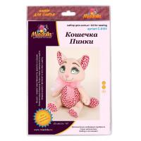 "Miadolla C-0181 Набор для изготовления игрушки ""Miadolla"" C-0181 Кошечка Пинки ."