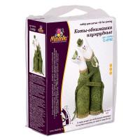 """Miadolla C-0192 Набор для изготовления игрушки """"Miadolla"""" C-0192 Коты-обнимашки изумрудные ."""