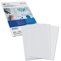 GBC CE012080E Обложки пластиковые для переплета А4, КОМПЛЕКТ 100 шт., 200 мкм, прозрачные, GBC, CE012080E