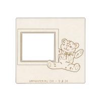 "Mr.Painter CHI-9 ""Mr.Painter"" CHI-9 Чипборд 9.5 х 10 см 1 шт. 34 ""Рамка с мишкой"""