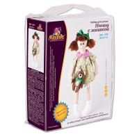 "Miadolla D-0111 Набор для изготовления игрушки ""Miadolla"" D-0111 Нюша с мишкой ."