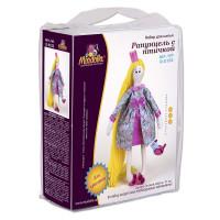 """Miadolla D-0123 Набор для изготовления игрушки """"Miadolla"""" D-0123 Рапунцель с птичкой ."""