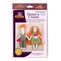 """Miadolla D-0130 Набор для изготовления игрушки """"Miadolla"""" D-0130 Паша и Глаша ."""