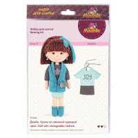 "Miadolla D-0224 Набор для изготовления игрушки ""Miadolla"" D-0224 Джейн ."
