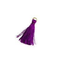 Прочие ДЭК-5-12-38534.012 Кисточки дл.3,5 см фиолетовый уп. 2 шт.
