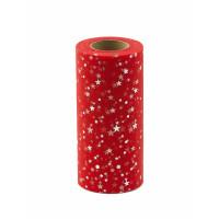 Прочие ФШ-13-6-32940.009 Фатин в шпульке ш.15 см красный