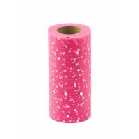 Прочие ФШ-13-8-32940.003 Фатин в шпульке ш.15 см розовый