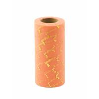Прочие ФШ-14-2-32939.002 Фатин в шпульке ш.15 см персиковый