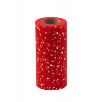 Прочие ФШ-14-3-32939.003 Фатин в шпульке ш.15 см красный