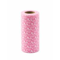Прочие ФШ-20-1-32938.001 Фатин в шпульке ш.15 см розовый