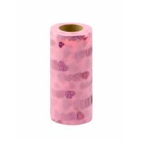 Прочие ФШ-3-5-31945.003 Фатин в шпульке ш.15 см розовый