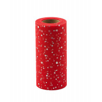 Прочие ФШ-8-10-31939.010 Фатин в шпульке ш.15 см красный