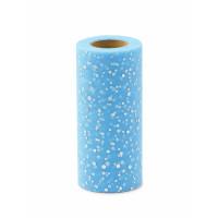 Прочие ФШ-8-4-31939.004 Фатин в шпульке ш.15 см голубой