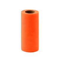 Прочие ФШ-9-28-31943.026 Фатин в шпульке ш.15 см оранжевый