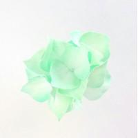 """Прочие Г-003 Ревелюровые цветы """"FomFantasy"""" Г-003, гортензия (4,5 * 3 см)  цв.мята"""
