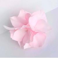 """Прочие Г-004 Ревелюровые цветы """"FomFantasy"""" Г-004, гортензия (4,5 * 3 см)  цв.св.розовый"""