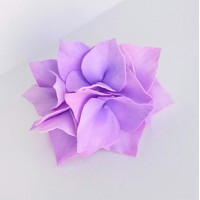 """Прочие Г-005 Ревелюровые цветы """"FomFantasy"""" Г-005, гортензия (4,5 * 3 см)  цв.фиолет"""