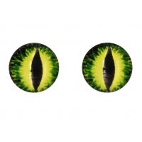 Прочие Глазки для игрушек Глазки для игрушек, 16 мм., 10шт/упак., AR1062 (1-3 желто-зеленый)