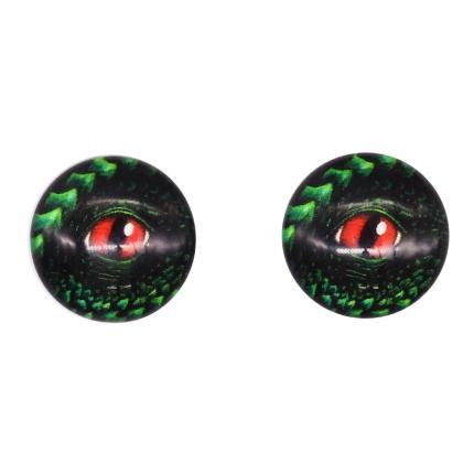 Глазки для игрушек, 16 мм., 10шт/упак., AR1062 (1-5 красный) (арт. Глазки для игрушек)