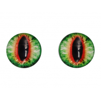 Прочие Глазки для игрушек Глазки для игрушек, 16 мм., 10шт/упак., AR1062 (1-7 зелено- коричневый)
