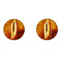 Прочие Глазки для игрушек Глазки для игрушек, 16 мм., 10шт/упак., AR1062 (1-8 рыжий)