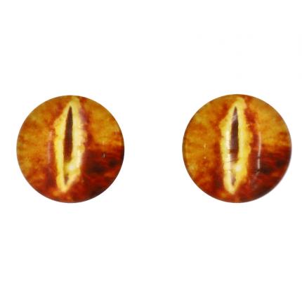 Глазки для игрушек, 16 мм., 10шт/упак., AR1062 (1-8 рыжий) (арт. Глазки для игрушек)