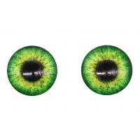 Прочие Глазки для игрушек Глазки для игрушек, 16 мм., 10шт/упак., AR1062 (2-2 зеленый)