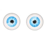 Прочие Глазки для игрушек Глазки для игрушек, 16 мм., 10шт/упак., AR1062 (2-5 голубой)