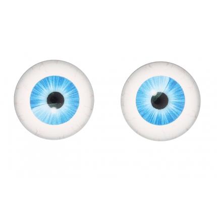 Глазки для игрушек, 16 мм., 10шт/упак., AR1062 (2-5 голубой) (арт. Глазки для игрушек)