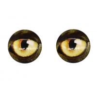 Прочие Глазки для игрушек Глазки для игрушек, 16 мм., 10шт/упак., AR1062 (3-1 коричнево-желтый)