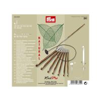 Prym ГММ-14883-1-ГММ064617047634 Набор тунисских крючков для вязания, дерево/металл (набор), 3,5-8 мм, упак./8 шт., Prym 223810