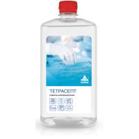 НИКА КА-00001373 Антисептик для рук и поверхностей спиртосодержащий (15%) 1л НИКА-ТЕТРАСЕПТ, дезинфицирующий, жидкость, КА-00001373