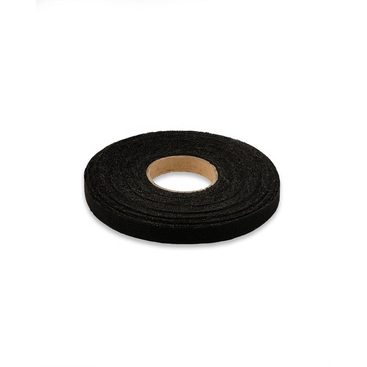 Лента нитепрошивная ш.1 см черный (арт. КЛЕ-17-1-7414.002)