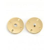 Прочие КН-93-5-13704.005 Кнопки д.2,5 см (металл) золотистый