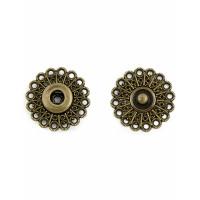 Прочие КНД-1-1-18638.003 Кнопки д.2,5 см (металл) бронзовый