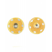 KOH-I-NOOR КНД-17-1-32455 Кнопки KOH-I-HOOR №8 (д.20,9мм) оранжевый