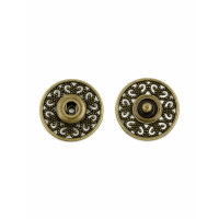 Прочие КНД-24-1-33317 Кнопки д.2,1 см (металл) бронзовый